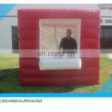 hot sale inflatable stall promotional booth, ticket inflatable booth, trade show booth for sale