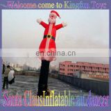 Santa Claus inflatable flying dancer for fun