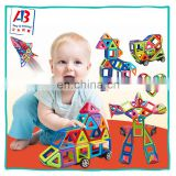 2017Hot sale High Quantity ABS Plastic 76pcs Magnetic Building Blocks Toys For Children