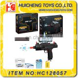 Wholesale electric repeating water crystal bullet gun toys non toxic plastic B/O crystal gun