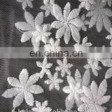 cotton mesh chemical or water soluble lace fabric factory in Zhejiang
