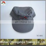 embroidery military peaked cap