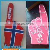 Popular Premiums Big Cheering Sponge Foam Finger Gloves