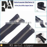 Black Colors Available 30cm 100pcs Close-open black Metal Zippers With Pearl Slider, Multi-color #3 Zippers For DIY Sewing
