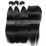 10a grade raw unprocessed virgin peruvian hair extension cuticle aligned hair top quality remy hair