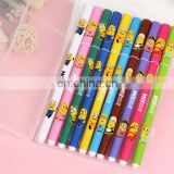 Fresh and lovely watercolor cartoon pen gel pen 10 Set