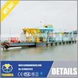cutter suction sand dredger price/sand dredging machine