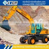 China Brand LGW6150 Used Wheel Excavator For Sale