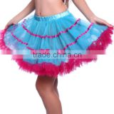 Red blue Baby Girls TUTU Dresses, Girls ruffle tutu birthday dress, chiffon TuTU Dress party