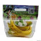 100% virgin fresh packing banana plastic bags from China with hang hole