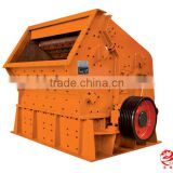 Hard rock reaction crusher stone , stone crusher machine with tire type , casting structure