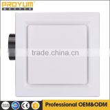 Square Ceiling mounted exhaust fan for bathroom 140mm fan wheel 30w power SAA CCC CE certification approval