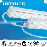 Europe US Japanese new patent IP65 waterproof T8 led tube lights with mounting hardware at factory price