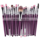 20pcs Professional makeup sets cosmetic brush for eyes