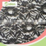 Factory direct wholesale black color nylon Italian lace fabric                                                                                                         Supplier's Choice