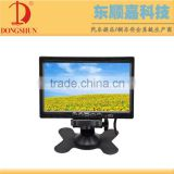 "7""Stand alone car monitor with headrest mount frame,reverse camera input ,Car screen for video"