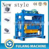 concrete block machine for produce block,QT40-2 semi-auto block making machine ,simple machine block and brick maker