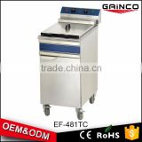 Energy-saving commercial restaurant kitchen equipment electric turkey fryer with 1 basket EF-481TC