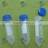 Lab Conical Centrifuge Tube with easy-open screw blue cap