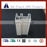 European white color sliding upvc profile for window and door