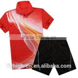 Custom Logo Men's Sublimation Badminton Uniform