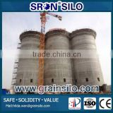 China Leading Concrete Silo Design, Turn-Key Project Concrete Cement Silo and Grain Silo                                                                         Quality Choice