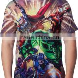 sublimated made t shirt state apparel,custom sublimated new design t shirt for canada,unisex all over t shirt