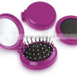 Round Mirror set/hair brush and mirror set for children