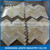 China wholesale fumigated wood crates cheap honey onyx mosaic tile price