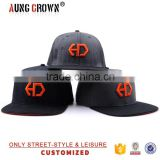 Custom Embroidered Snapback Cap Cheap Flat Bill Hat                                                                         Quality Choice