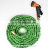 Expandable Garden Hose with Aluminum Alloy Nozzle or brass fitting