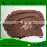 60 mesh brown Rock Garnet Sand for Waterjet Cutting Machine