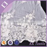 Double sided cotton thread crochet lace fabric wholesale
