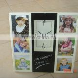 desk & wall picture & photo frame analog clock