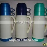 1000ml 1800ml thermos flask / glass water bottle / two cups plastic mug / vacuum flask / China kitchenware manufacturer