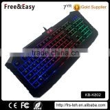Led backlight multifunction gaming keyboard RGB keyboard                                                                         Quality Choice