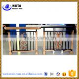 Portable aluminum railing for balcony stairs