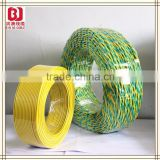 PVC insulation material and 3 cores types of electrical wire joint,2.5mm electrical wire
