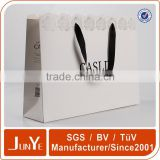 luxury brand die cut handle gift package paper bag