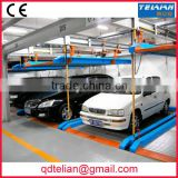 PSH automatic double deck vertical-horizontal parking machinery carport auto two level lift-sliding car parking systems