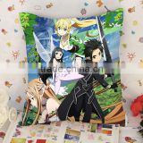 Custom sword art online throw pillow printing , customize printed sword art online throw pillow