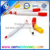 Wholesale erasable whiteboard yellow and red color marker pen for school or office