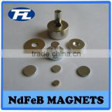 Neodymium disc magnets,zinc coating Neodymium Iron Boron Material