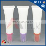 alibaba 50g 100g LDPE food grade large plastic cosmetic tube irless tube with cap squeezable tube
