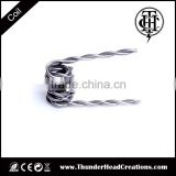 vapor wire coil clapton tiger hive fused staggered coil wire