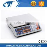 30kg price computing scale with big battery and transformer