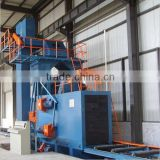 whole sale H beam shot blasting machine, I beam shot blasting machine, steel structure shot blasting machine
