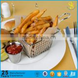 Guangzhou Factory Mini Mcdonalds Deep Fryer, square deep fryers basket, fryer wire basket