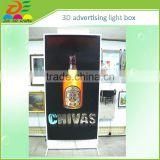 advertising hotel Ultra-thin flip effect 3D light box letters