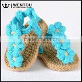 Wentou Crochet Pattern Baby Sandals